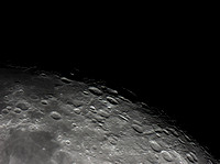 Petavius, Snellius, Stevinus and Furnerius Craters