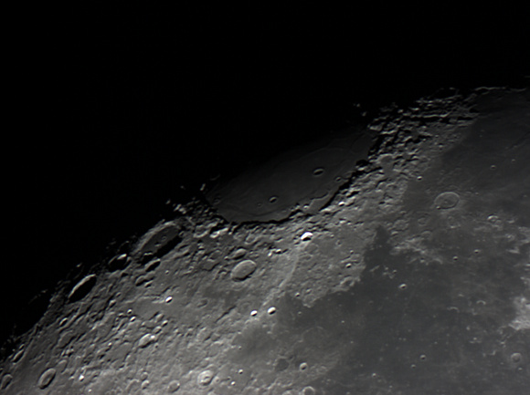 Mare Crisium and Cleomedes Crater